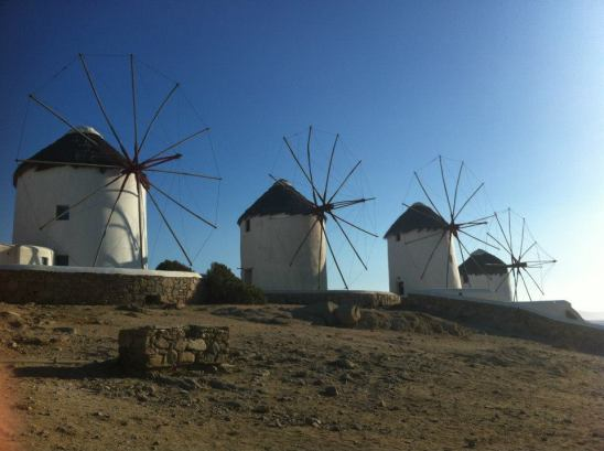 Windmills at Chora